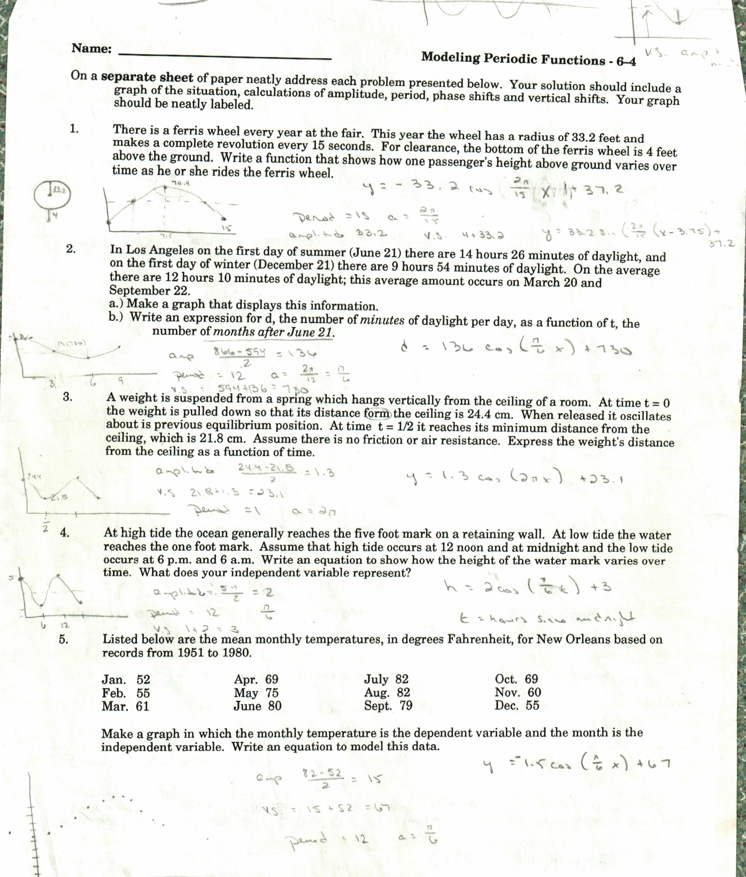 math worksheet : exponential decay worksheet algebra  sheets : Integrated Math 2 Worksheets